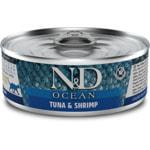 Влажный корм Farmina N&D Ocean с тунцом и креветками