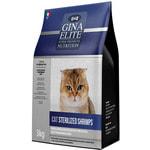 Gina Elite Cat Sterilized Shrimps (Италия)