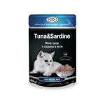 Влажный корм GINA Tuna & Sardine — Тунец с сардинами
