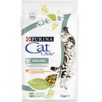 Сухой корм Cat chow для стерил кошек