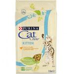 Сухой корм Cat chow для котят, домашняя птица