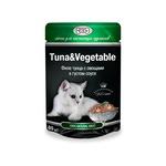 Влажный корм GINA Tuna & Vegetable — Тунец с овощами