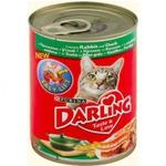 Влажный корм Консервы для кошек с кроликом и уткой
