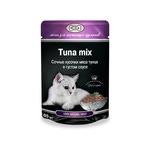 Влажный корм GINA Tuna mix — Тунец с в густом соусе