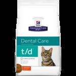 Сухой корм Hill's Prescription Diet t/d Dental Care Feline