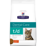 Сухой корм Hill's Prescription Diet t/d Dental Care Feline