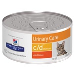 Консерва Hill's Prescription Diet c/d Multicare Urinary Care Feline (курица)