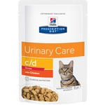 Влажный корм Hill's Prescription Diet c/d Urinary Stres Feline (курица)