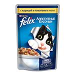 Felix с курицей и томатами в желе