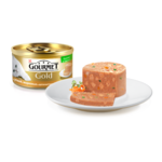"""Влажный корм Кусочки в паштете """"Террин"""" с уткой, морковью и шпинатом по-французски"""