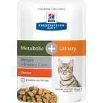 Влажный корм Hill's Prescription Diet Metabolic + Urinary Weight+Urinary Care Feline