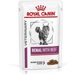 Влажный корм Royal canin RENAL C ГОВЯДИНОЙ пауч