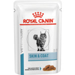 Влажный корм Royal canin SKIN & COAT FORMULA пауч
