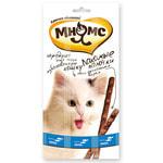 Лакомство для кошек «Мнямс Лакомые Палочки» (лосось и форель)