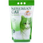 Наполнитель Сибирская кошка ЭКО (зелёный)