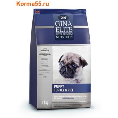 Сухой корм Gina Elite Puppy Turkey & Rice (Великобритания)