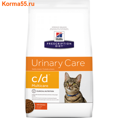 Сухой корм HPD c/d Multicare Urinary Care Feline (курица)