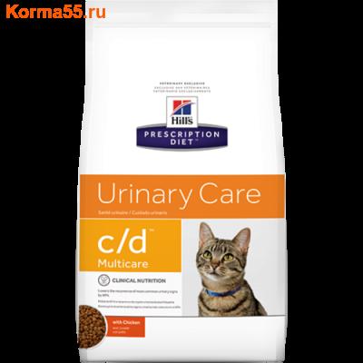 Сухой корм Hill's Prescription Diet c/d Multicare Urinary Care Feline (курица)