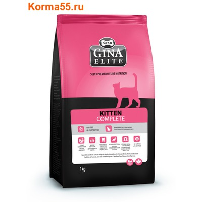 Сухой корм Gina Elite Kitten (Канада)