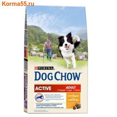 Сухой корм Dog Chow Active
