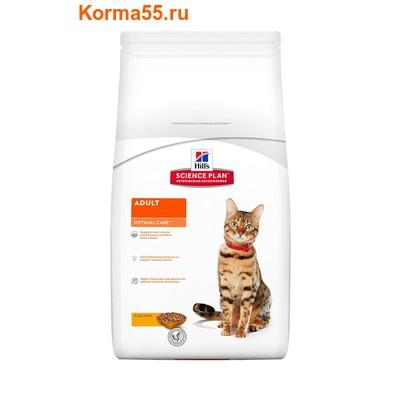 Сухой корм HSP Feline Adult Optimal Care Chicken (курица)
