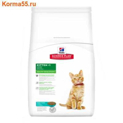 Сухой корм Hill's Science Plan Kitten Healthy Development (тунец)