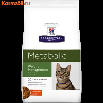 Сухой корм Hill's Prescription Diet Metabolic Feline