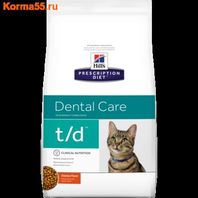 Сухой корм HPD t/d Dental Care Feline