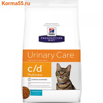 Сухой корм HPD c/d Multicare Urinary Care Feline (рыба)