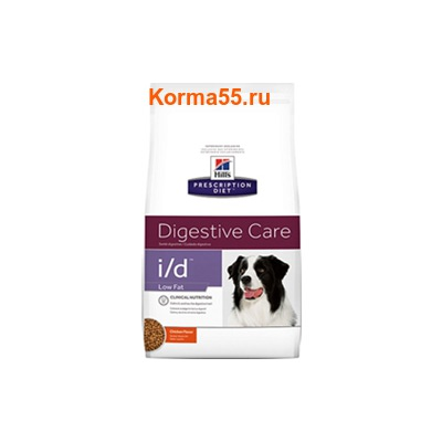 Сухой корм Hill's Prescription Diet i/d Low Fat Digestive Care Canine