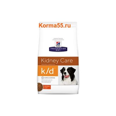 Сухой корм Hill's Prescription Diet k/d Kidney Care Canine