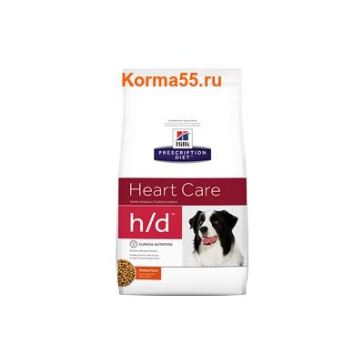 Сухой корм Hill's Prescription Diet h/d Heart Care Canine