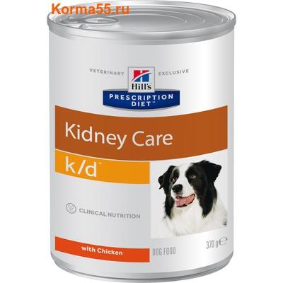 Влажный корм Hill's Prescription Diet k/d Kidney Care Canine