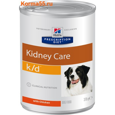 Влажный корм Hill's Prescription Diet k/d Kidney Care Canine