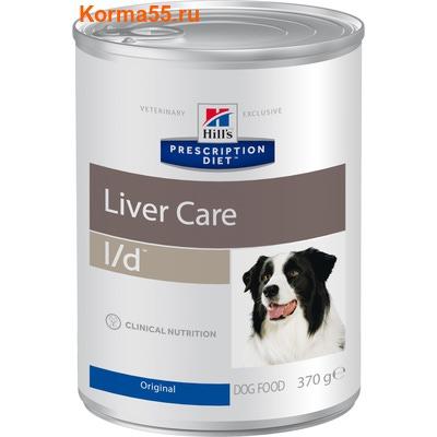 Влажный корм Hill's Prescription Diet l/d Liver Care Canine