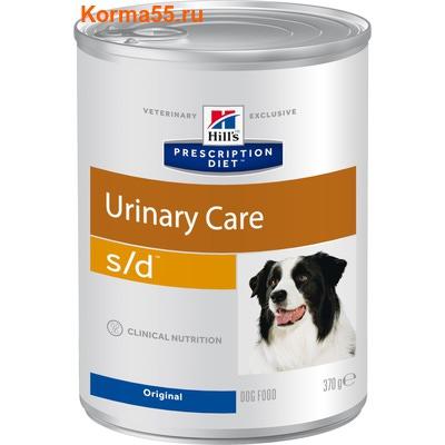 Влажный корм HPD s/d Canine