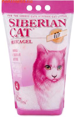Наполнитель Сибирская кошка Элитный (розовый)