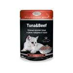 Влажный корм GINA Tuna & Beef — Тунец с говядиной
