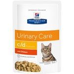 Влажный корм Hill's Prescription Diet c/d Multicare Urinary Care Feline (курица)